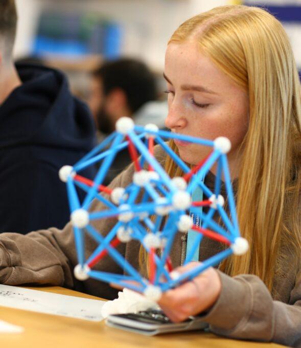Student Studying at Lancaster University School of Mathematics